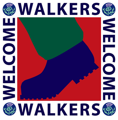 Walkers Welcome Here